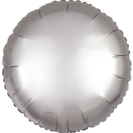 Product Foil balloon circle grey