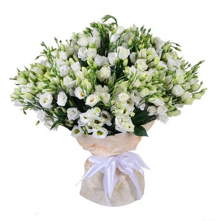 Delicate bouquet ''101 eustoma'' with delivery in any city