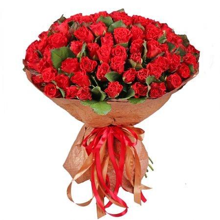 Bouquet 101 red roses El-Toro