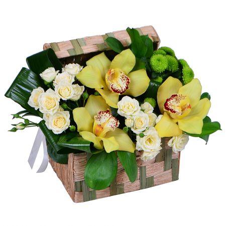 Bouquet Floral Casket