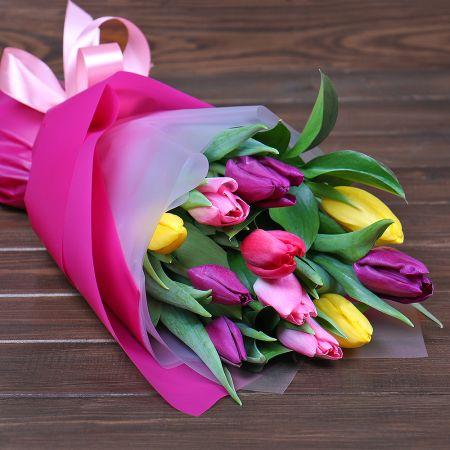 Bouquet 11 mix tulips