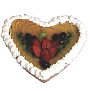 Product Fruit Heart Cake