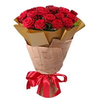Bouquet 21 roses Kharkov