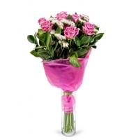 Bouquet Сute mom + vase