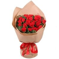 Bouquet 25 red roses LOVE