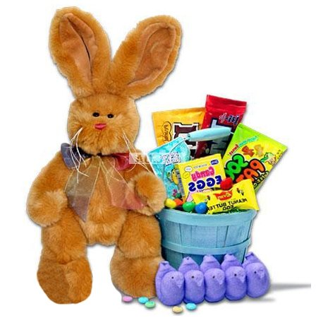 Bouquet Easter bunny