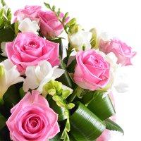 Bouquet Beautiful girl