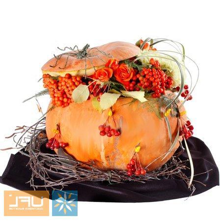 Bouquet Halloween Composition