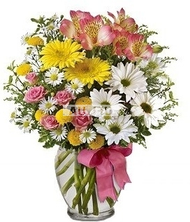 Bouquet Special offer! Wild Flowers! Vase for free!