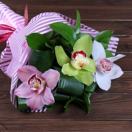 Bouquet 3 orchids