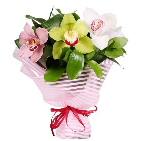 Bouquet 3 orhids mix