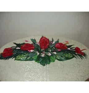 Bouquet Composition of five anthuriums