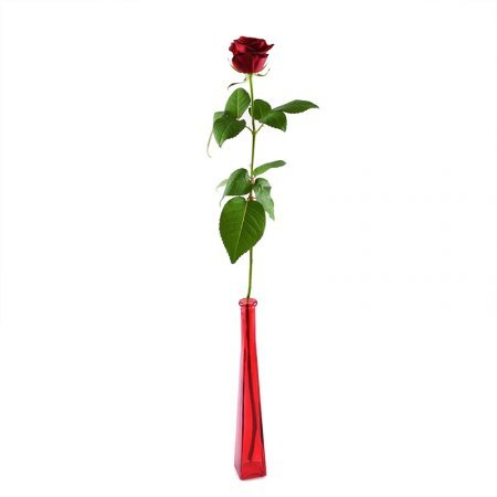 Bouquet Single red rose