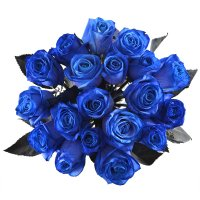 Bouquet Blue roses Mystic