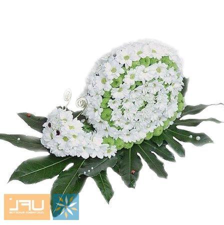 Bouquet Arrangement Snail