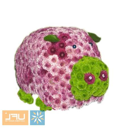 Bouquet Piggy
