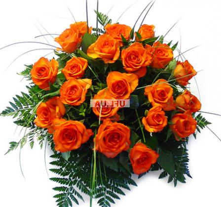 Bouquet Orange roses by the piece