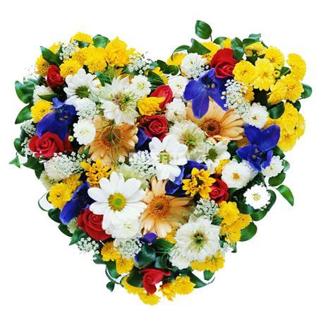 Bouquet Assorted heart