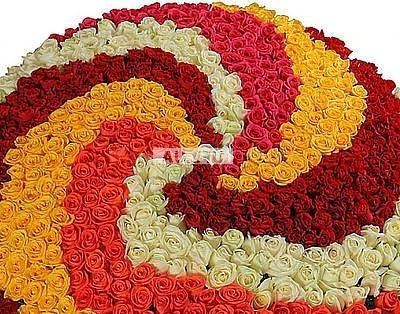 Bouquet 1001 roses Вoundless love