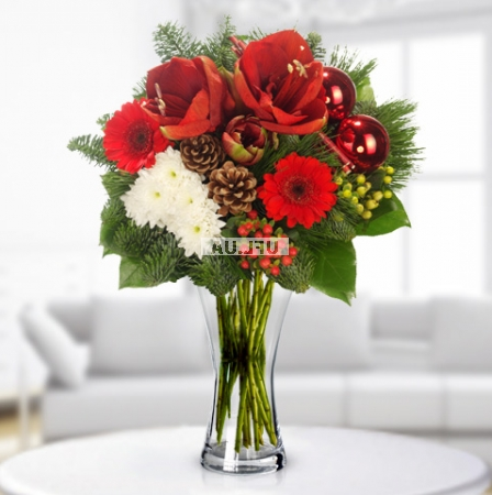Bouquet Christmas florist designed bouquet