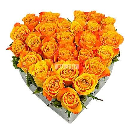 Bouquet Arrangement Sunny happiness