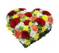 Bouquet Colorful heart