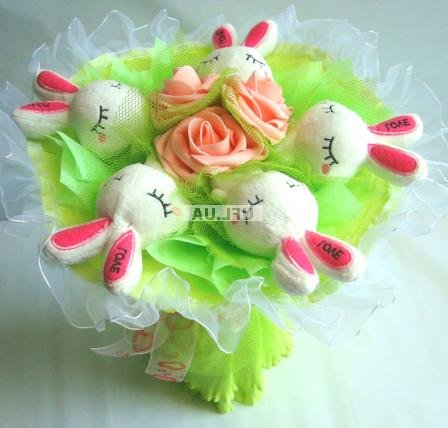 Bouquet Rabbits