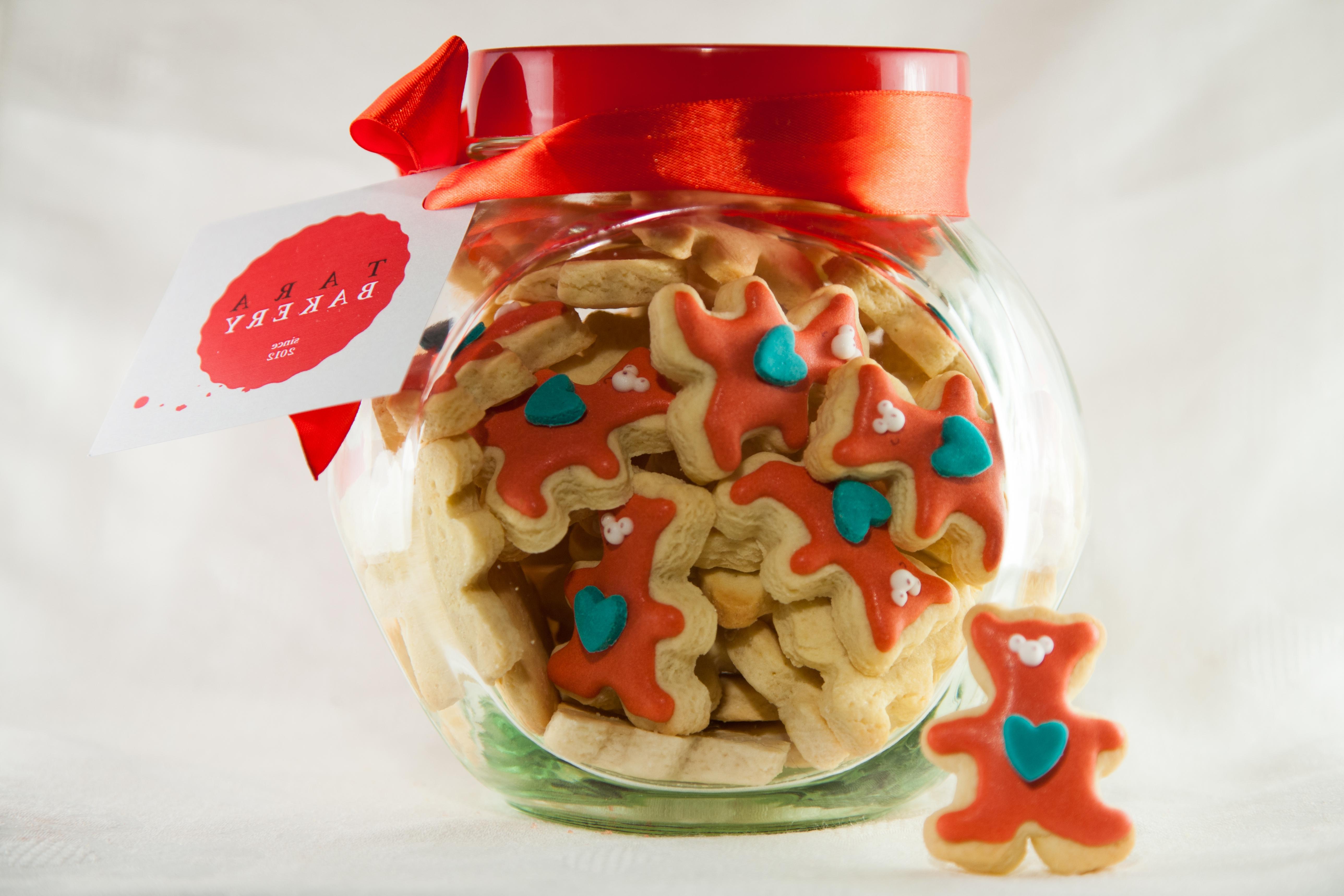 Bouquet Bear cookies
