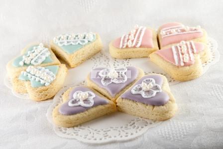 Bouquet Cookies Hearts 9