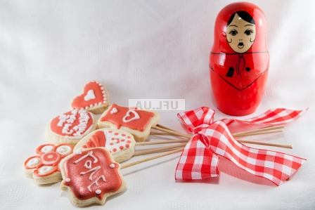 Bouquet Assorted cookies set Love 1