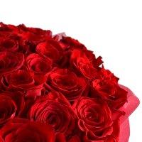 Bouquet DESIRE FLAME 51 roses+ Asti Martini