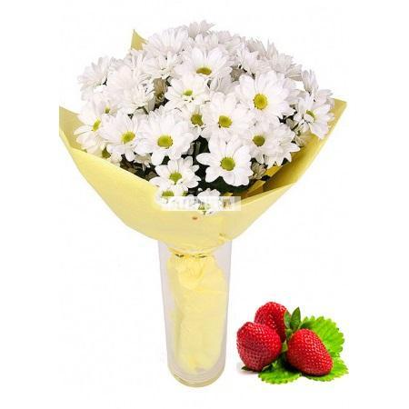 Bouquet Fluffy sympathy + Strawberry