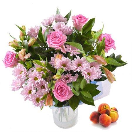 Bouquet Beauty+peaches