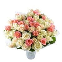 Bouquet The Tender сompliment 51 roses