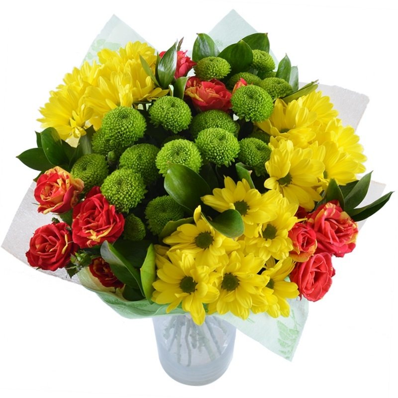 Bouquet With smile