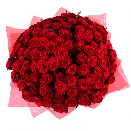 Bouquet 101 red rose 50cm
