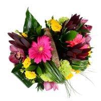 Bouquet Summer flower basket
