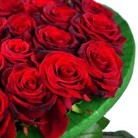 Buy an original bouquet of red roses in form of heart