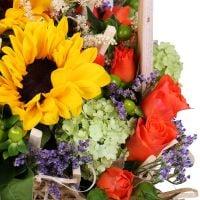 Bouquet The original basket of flowers
