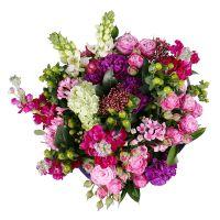 Bouquet Hot pink dessert