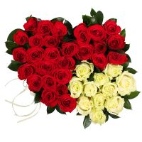 Bouquet Two Loving Hearts