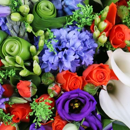 Bouquet Bright colors