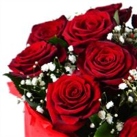 Bouquet Snowy rose
