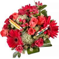 Bouquet Play of ruby