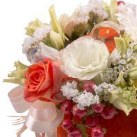 Bouquet Pumpkin with flowers