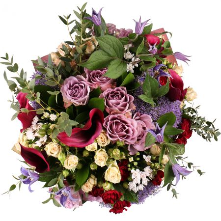 Order the refined bouquet with delivery