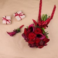 Order the scarlet wedding flowers | Delivery