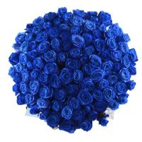 Bouquet Blue roses by the piece