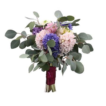 Bouquet 9 hyacinths