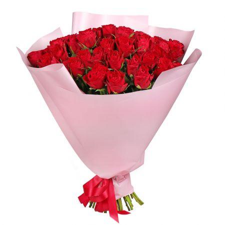 Bouquet  Promo! 51 red roses 50 cm